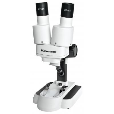 Bresser optics microscoop accessoire: Biolux ICD 20x Stereo - Zwart, Wit