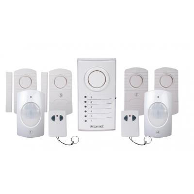 König alarm ringer: Wireless alarm system - Wit