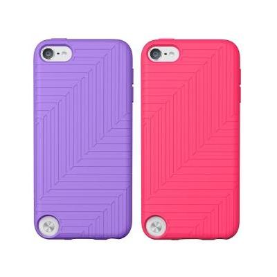 Belkin MP3/MP4 case: Silicone, pink/purple - Roze, Paars