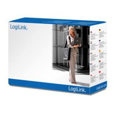 LogiLink CP090 Electriciteitssnoer - Zwart