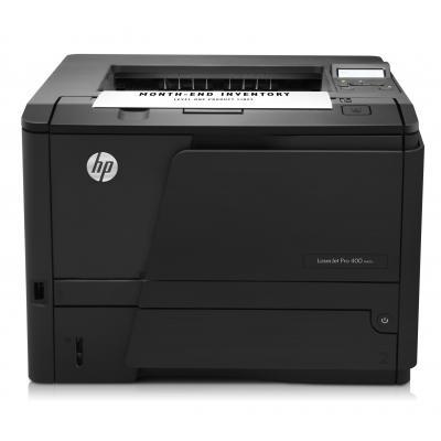 HP laserprinter: LaserJet Pro M401d - Zwart