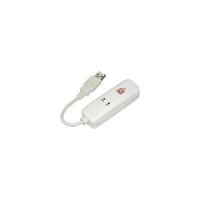 Longshine LCS-8156C1, USB 1.1, 56kbps, white Modem