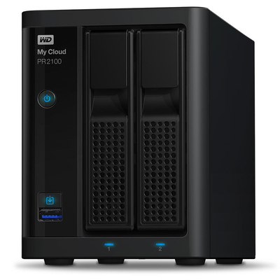 Western Digital My Cloud PR2100 NAS - Zwart