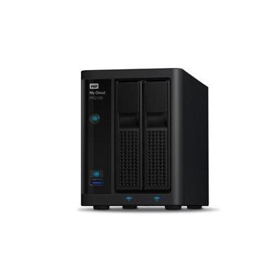 Western digital NAS: My Cloud PR2100 8TB - Zwart