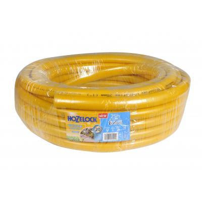 Hozelock tuinslang: Tricoflex Ultraflex slang Ø 25 mm 25 meter - Grijs, Geel