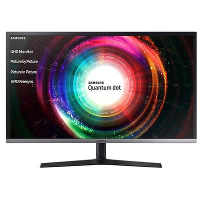 "Samsung UHD U32H850 81.28 cm (32"") VA, 3000:1, 250cd/m², 3840 x 2160, 8.8kg Monitor - Zwart, Zilver"