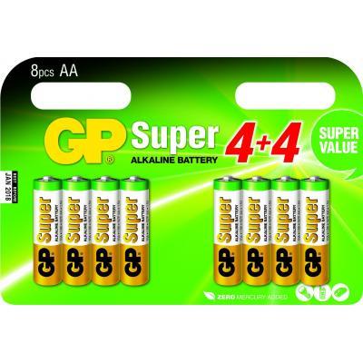 Gp batteries batterij: Super Alkaline AA - Multi kleuren