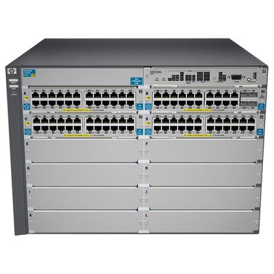 Hewlett Packard Enterprise ProCurve 5412-92G-PoE+-4G v2 zl Switch - Grijs