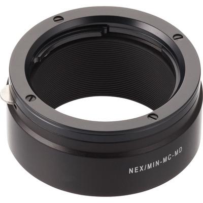 Novoflex NEX/MIN-MD Lens adapter - Zwart
