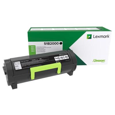 Lexmark 51B2000 Toner - Zwart