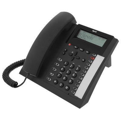 Tiptel 1020 dect telefoon - Zwart