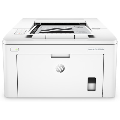 HP LaserJet Pro M203dw Laserprinter - Wit