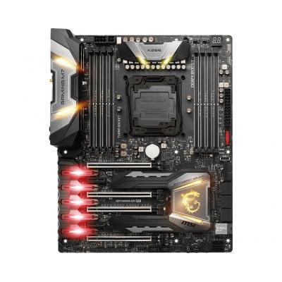 Msi moederbord: ATX, LGA 2066, 128GB DDR4-4500(OC)+, MULTI-GPU, Audio Boost 4 PRO