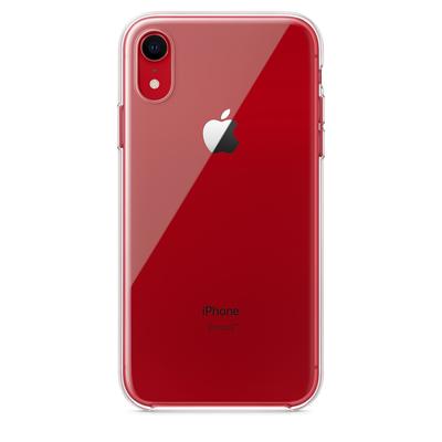 Apple mobile phone case: Doorzichtig hoesje voor iPhone XR - Transparant