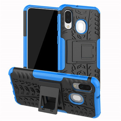 CoreParts MOBX-COVER-A40-BLU Mobile phone case - Blauw