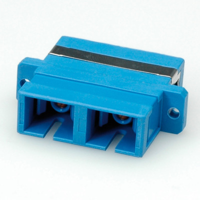 ROLINE Fibre Optic Adapter SC Duplex Single-Mode Z Fiber optic adapter