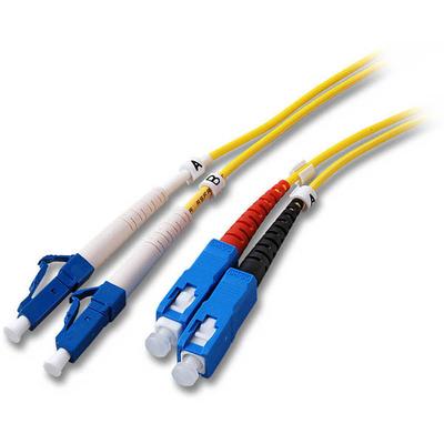 EFB Elektronik O0360.10 Fiber optic kabel - Geel
