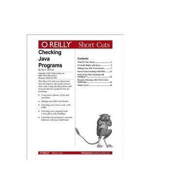O'reilly boek: Media Checking Java Programs - eBook (PDF)