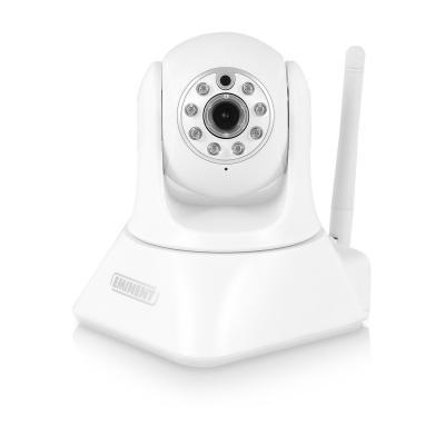 Eminent beveiligingscamera: e-CamView Pan/Tilt HD IP Camera - Wit