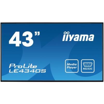 iiyama LE4340S-B1 public display