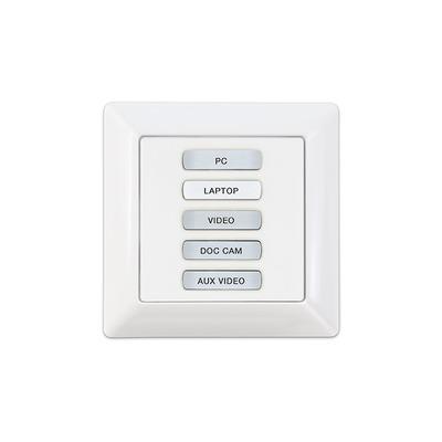 Extron EBP 105 EU Drukknop-panel - Zwart, Wit
