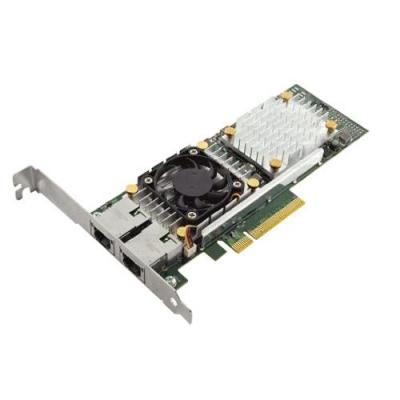 Dell netwerkkaart: Broadcom 57810 DP 10Gb DA/SFP+ Converged Network Adapter - Groen
