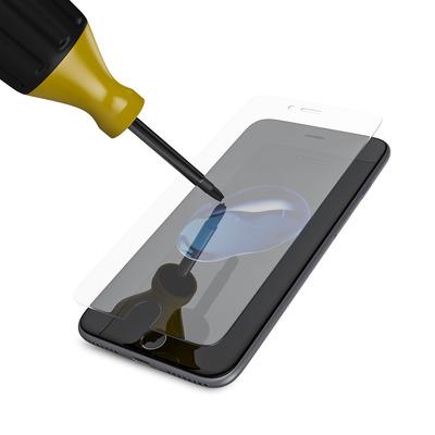 BeHello iPhone 6 Plus / 6S Plus / 7 Plus High Impact Glass Transparent Screen protector - Transparant