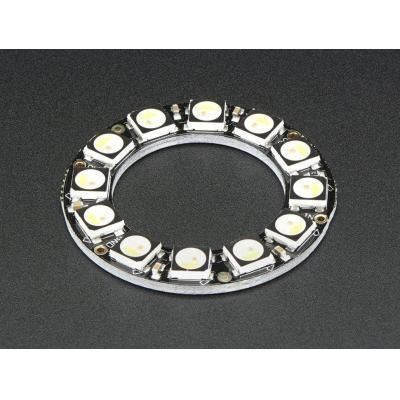 Adafruit decoratieve verlichting: 12x 5050 RGBW LEDs w, Warm White, 3000K - Zwart