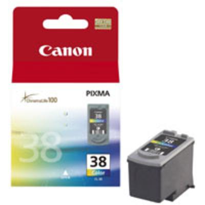 Canon CL-38 Inktcartridge - Cyaan, Magenta, Geel