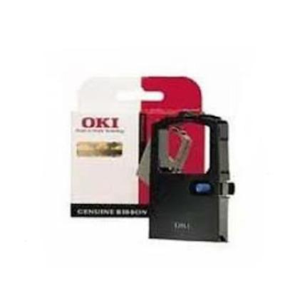 OKI Extended Life Cartridge Ribbon, 30000 Pages, Black Printerlint - Zwart