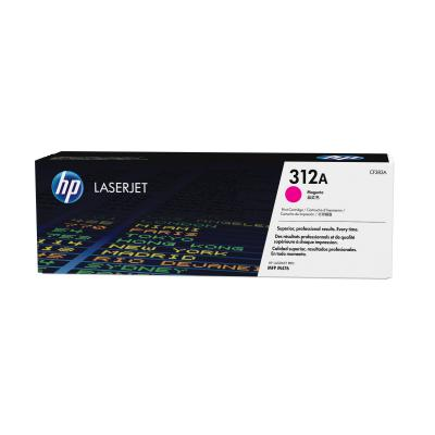 Hp toner: 312A magenta o.a. voor LaserJet Pro M476dn & M476nw