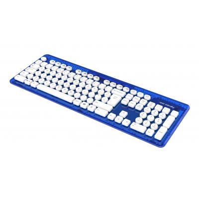Rock candy game assecoire: Wireless Keyboard (Blauw) - UK Layout