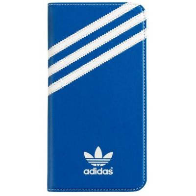 Adidas Booklet Case for Apple iPhone 6 Plus - Bluebird/White Mobile phone case - Blauw, Wit