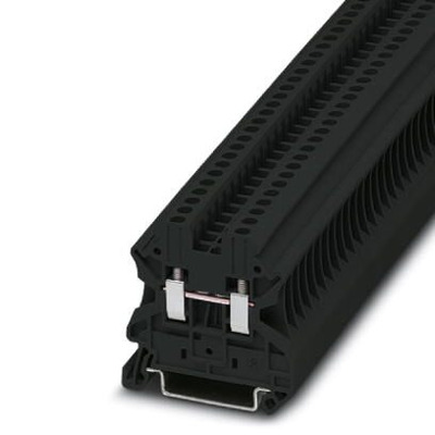 Phoenix Contact Aansluitklem - UT 2,5 BK Elektrische aansluitklem - Zwart