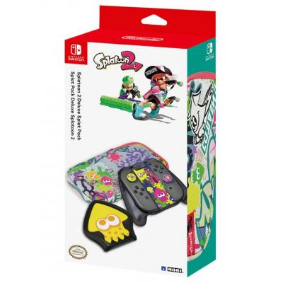 Hori : Splatoon 2 Deluxe Splat Pack for Nintendo Switch - Zwart, Transparant