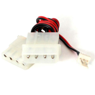 """StarTech.com 6"""" TX3 to Large Internal Power LP4 CPU Fan Adapter Cable Electriciteitssnoer"""