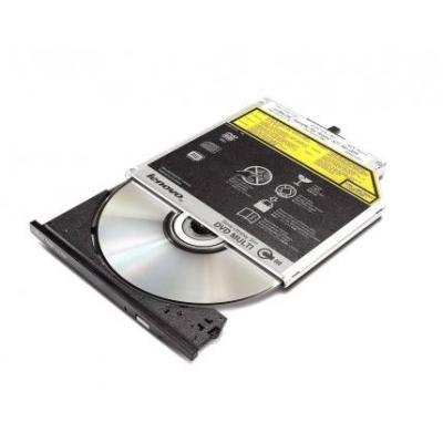 Lenovo brander: ThinkPad Ultrabay DVD Burner 12.7mm Enhanced Drive III - Zwart
