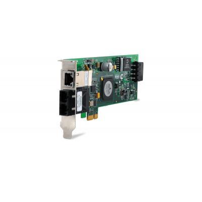 Allied Telesis 2716POE/FXSC Netwerkkaart - Groen