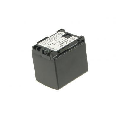2-power batterij: Lithium ion battery, 1400mAh - Zwart