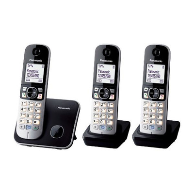 Panasonic KX-TG6813 Dect telefoon - Zwart, Zilver