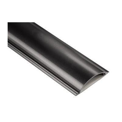 Hama montagekit: Cable Duct, semicircular, 100/2.1 cm, black - Zwart