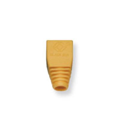 Black Box Colour-Coded Snagless Pre-Plugs Kabel beschermer - Geel