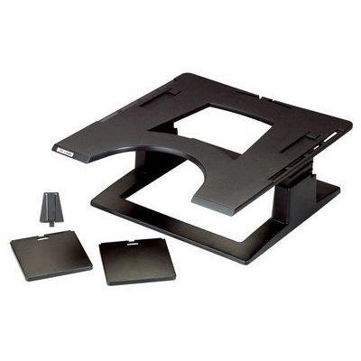 3m notebooksteun: 320 x 320 x 102 - 152 mm, 6.8 kg - Zwart