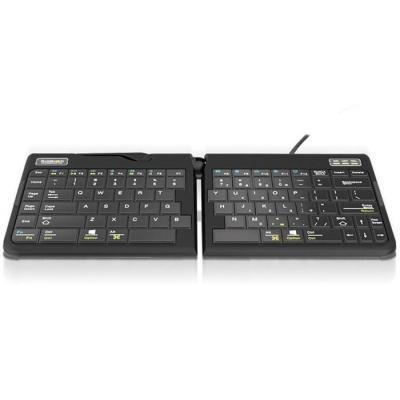 Goldtouch Go!2 Mobile Keyboard - QWERTY Toetsenbord - Zwart