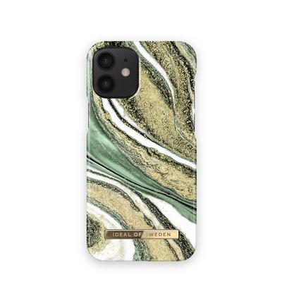 IDeal of Sweden Fashion Case iPhone 12 Mini COSMIC GREEN SWIRL Mobile phone case - Multi kleuren