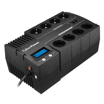 CyberPower Line-interactive, 1200VA, 720W, 8 x Schuko / FR Out UPS - Zwart
