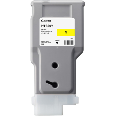 Canon PFI-320Y Inktcartridge - Geel