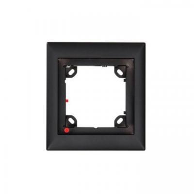 Mobotix inbouweenheid: OPT-FRAME1-BL\T24M Single door Frame\Black - Zwart
