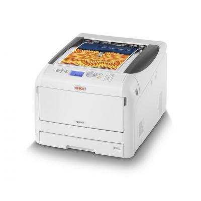 OKI C823dn laserprinter - Zwart, Cyaan, Magenta, Geel