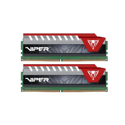 Patriot Memory Viper Elite Series DDR4 32GB 2400MHz RAM-geheugen - Zwart,Rood
